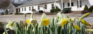 Berkey Avenue Mennonite Church in the Spring